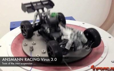 Asi se prueban los coches en Ansmann Racing