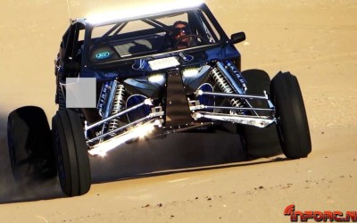 Buggies de 900 caballos. . .en la arena. Increible video.