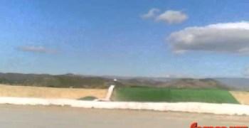 Camara OnBoard en Los Millares, Almeria