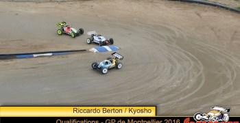 GP de Montpellier - Clasificación tras las mangas clasificatorias. Pole para Bertón.