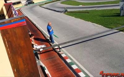 Mecanismo de recogida de coches en Gubbio, Italia