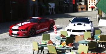 Otra persecución de coches teledirigidos