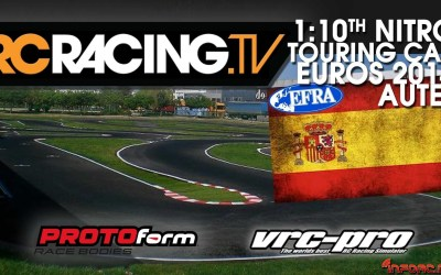 Sigue el Europeo 1/10 Pista con vídeo en directo con RC Racing TV