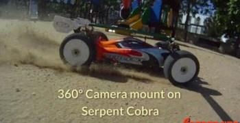 Vídeo: Camara rotativa instalada sobre un buggy 1/8