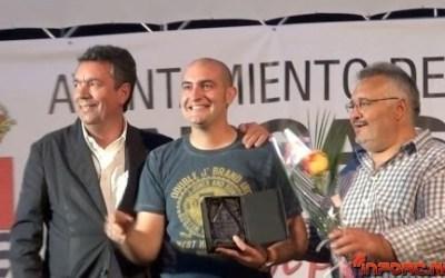 Video: Javi Pombo, deportista honorífico en Bargas, su pueblo