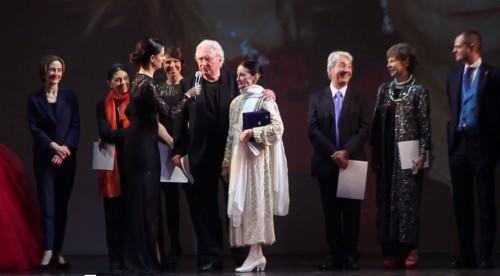 premio MAB, Fascilla con Carla Fracci