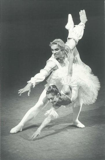 Vladimir Vasiliev con Ekaterina Maximova