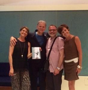 Lia Musarra, Maurizio Tamellini, Stefano Giacchetti e Francesca Camponero