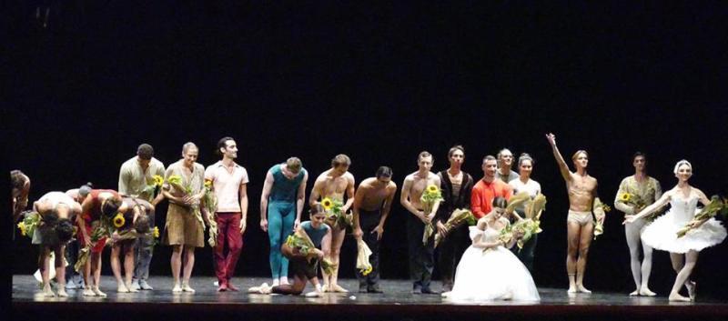 I premiati sul palco (foto di Monica Bragagnoli)
