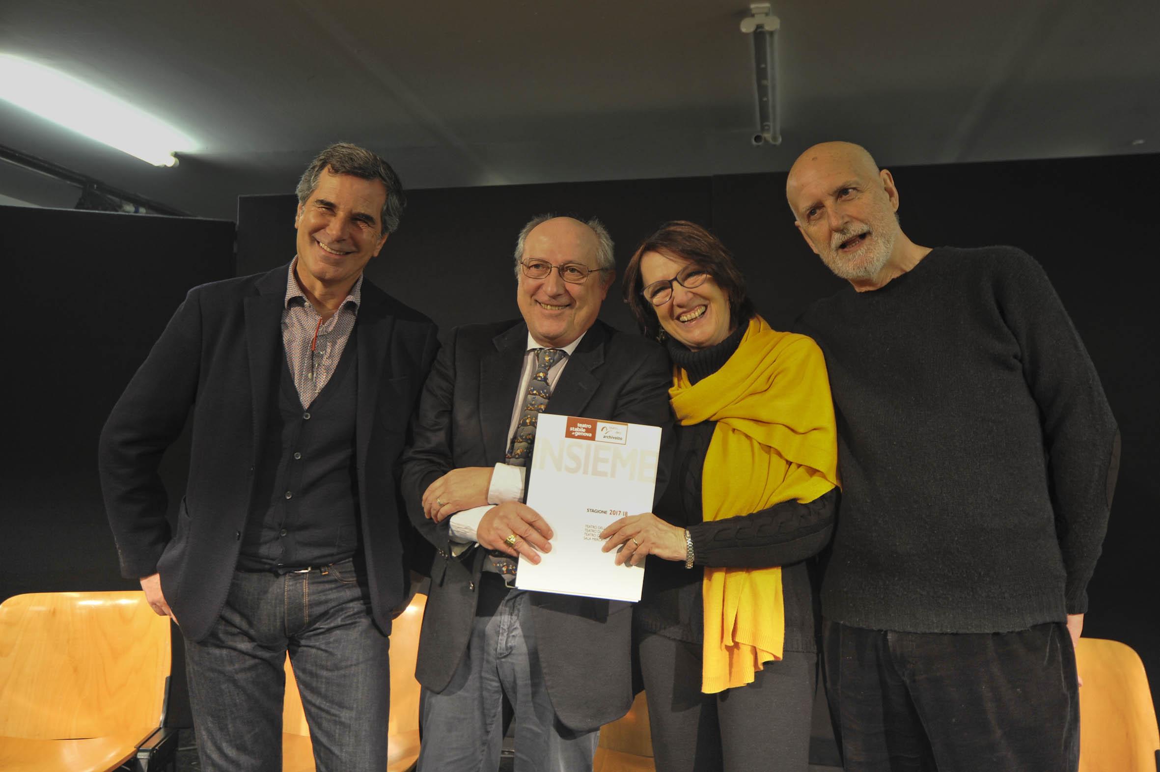 Nasce il nuovo teatro di genova con l obiettivo volto a for Alberto pastore