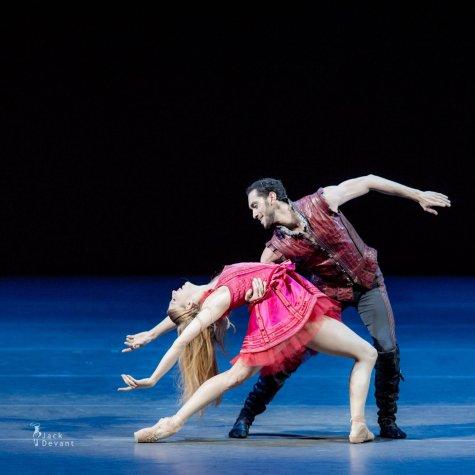 Virna Toppi e Christian Fagetti in Cinderella (foto Brescia Amisano)