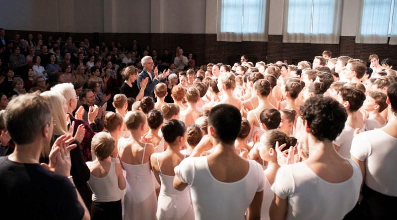 Ann Drower, la splendida insegnante dell'Hamburg Ballet School va in pensione