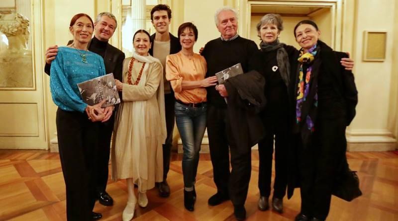 fascilla con Bolle, Fracci, Savignano, Prina , Dorella, Cosi, Olivieri alla Scala