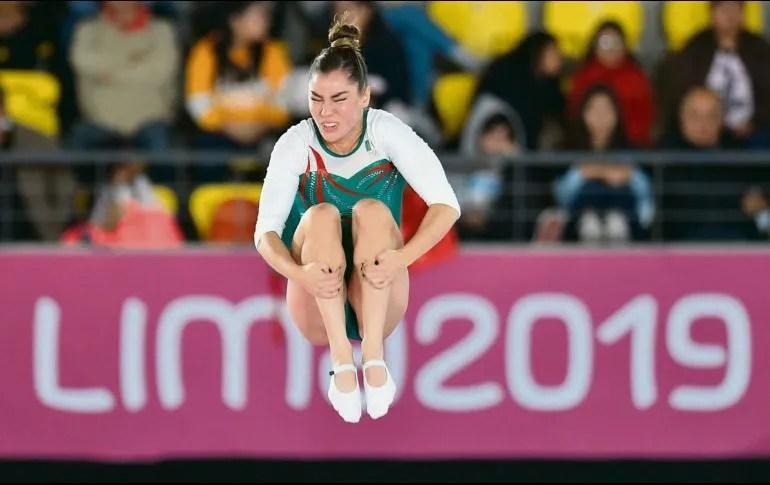 La gimnasta tiene lo necesario para sus entrenamientos. AFP