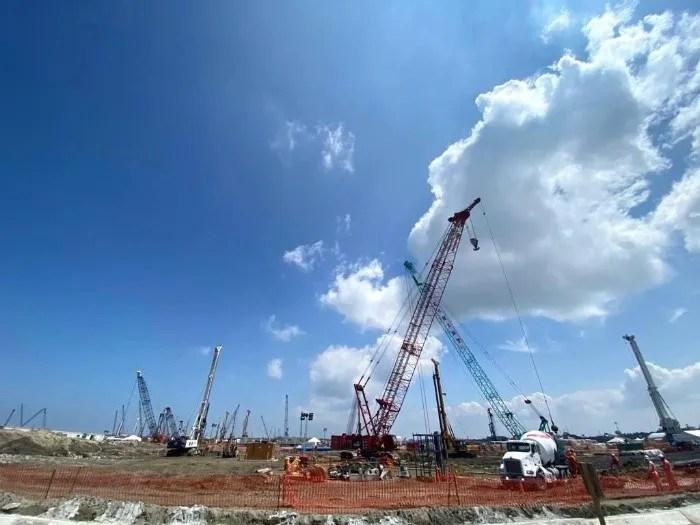 Se detectaron pagos fuera de norma por 75.5 millones de pesos en la construcción de Dos Bocas. Presidencia de México/ARCHIVO