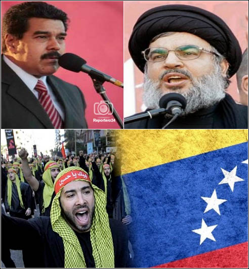 Maduro-negoció-con-Hizbolá-presencia-de-milicianos-en-Venezuela