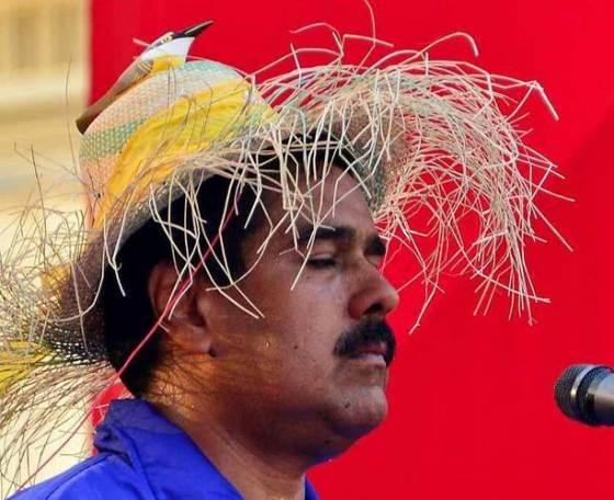 Nicolas-Maduro-sombrero-de-paja