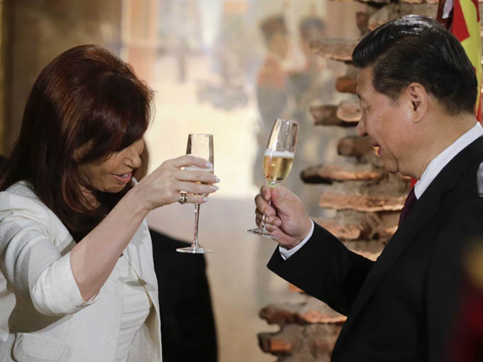 Acercamiento de Argentina a China