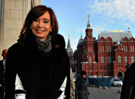 CFK en Moscú