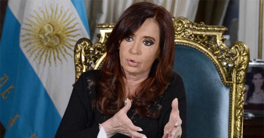 CFK levanta imagen positiva
