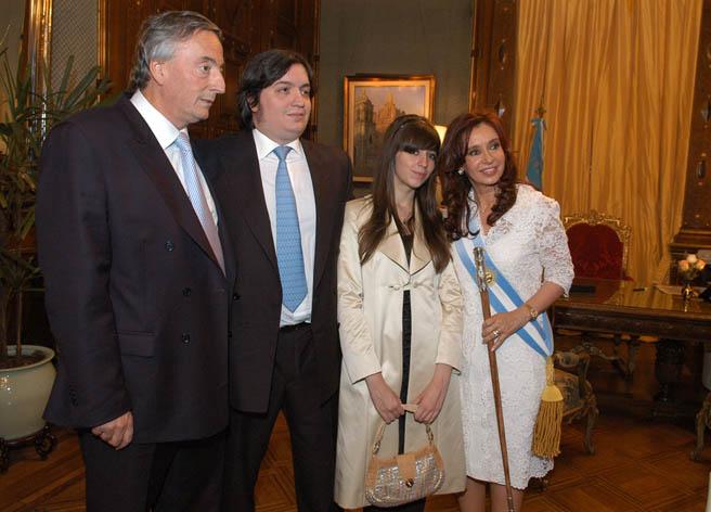 Familia_Kirchner_10-12-2007