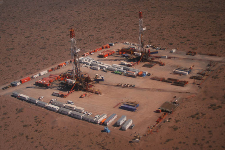 Fracking in Vaca Muerta