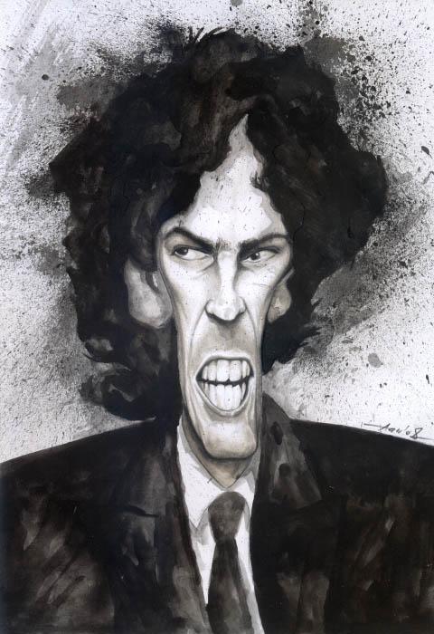 Martin Lousteau caricature