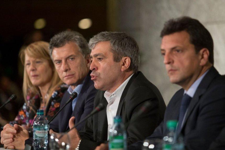 Macri, Massa y Stolbizer apoyaron a Cano