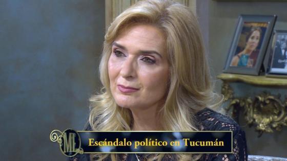 Silvia Elías de Pérez con Mirtha