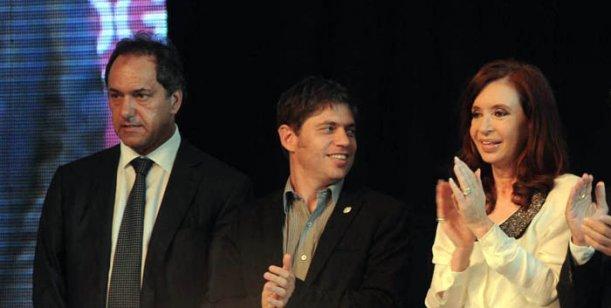 scioli-kicillof-CFK