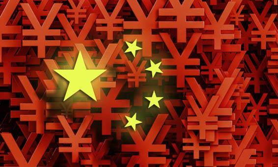 yuan-china-rojo-