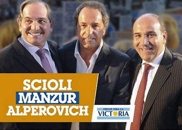 Alperovich-Scioli-Manzur