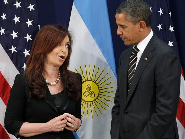 Obama resignado con Cristina