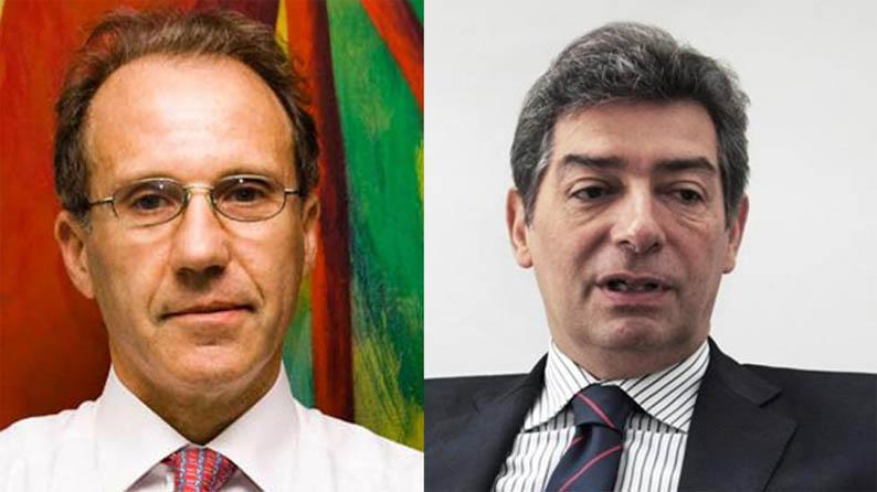 Horacio Rosatti y Carlos Rosenkranz