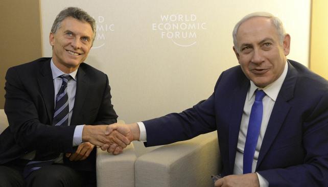 macri_netanyahu_Davos