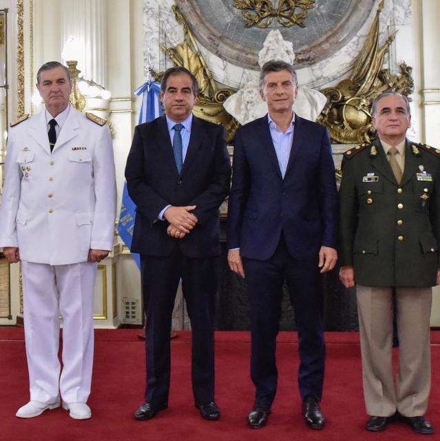 Macri-Fuerzas Armadas-Defensa
