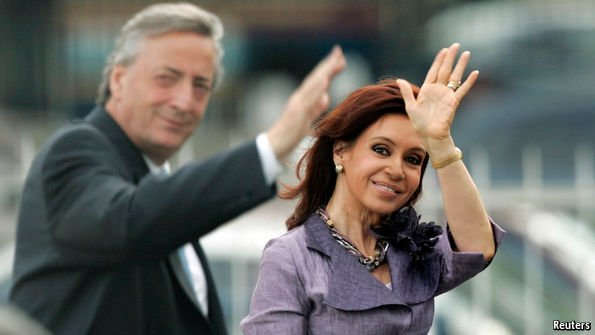 Erasing the Kirchner cult
