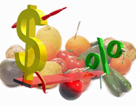 Precios de los alimentos