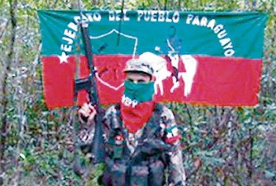 movimiento guerrillero (EPP) en el Paraguay