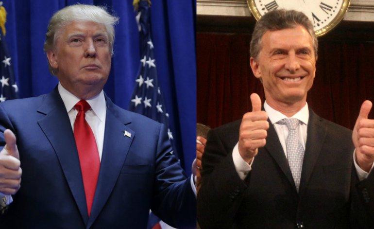 Macri ordenó acelerar los contactos con Trump
