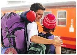 viaggio in treno, Inter rail