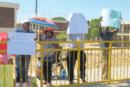 UNAM staff on strike