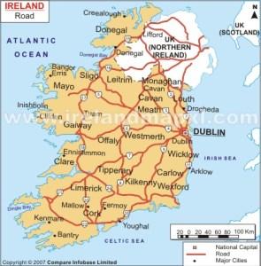 ireland-raod-map