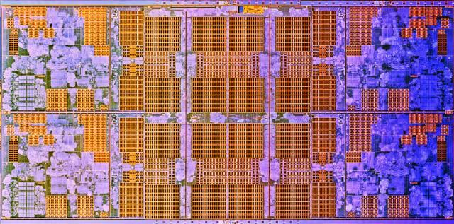 AMD Ryzen 4 core cluster. 4 cores y 8 MB L3.