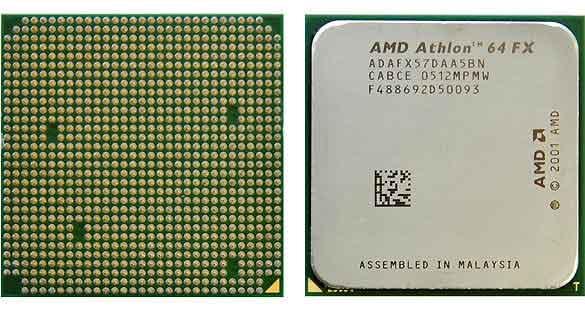 Los Athlon FX se impusieron a sus homólogos de Intel