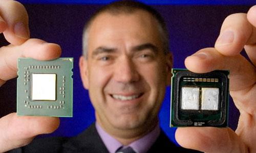 AMD Barcelona 65 nm vs. Intel Core 2 Quad Kentsfield 65 nm.
