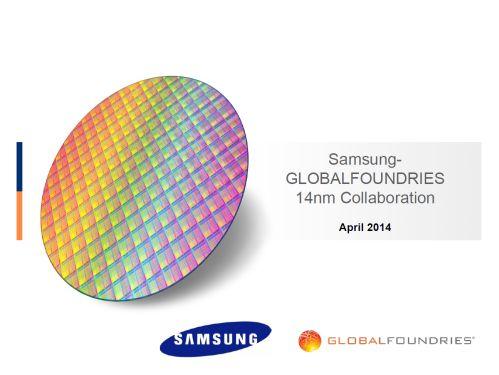El acuerdo entre Samsung y GlobalFoundries en 14nm.