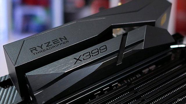 Threadripper utiliza el Chipset X399 de AMD