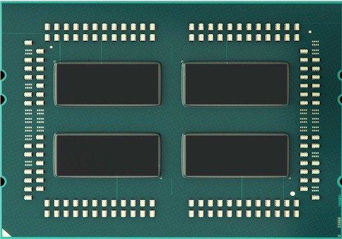 Procesador AMD EPYC 14 nm formado por 4 dies Zeppelin