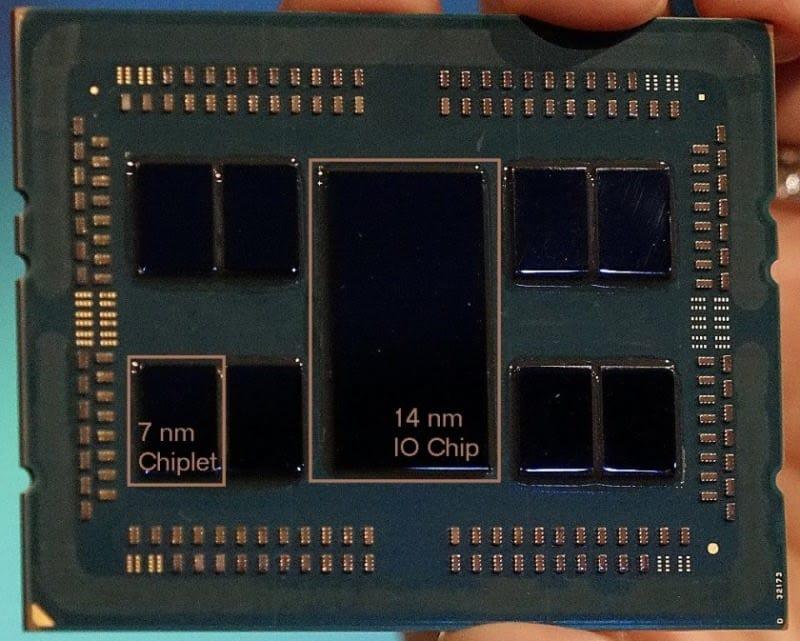 AMD Zen 2 en EPYC 2 Rome 7 nanómetros